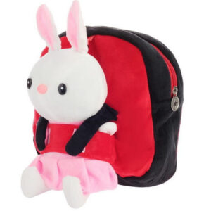 Детский рюкзак с игрушкой Зайка