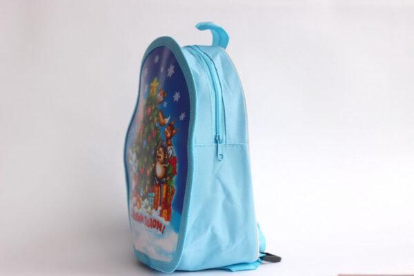 Новогодний рюкзак для подарка и сладостей