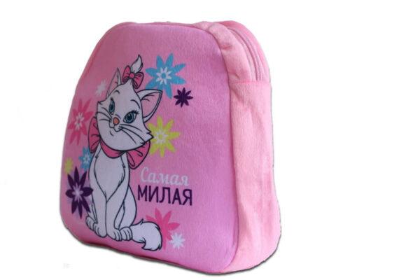 Плюшевый рюкзак Кошка