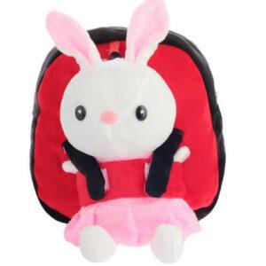 Плюшевый рюкзак Зайка