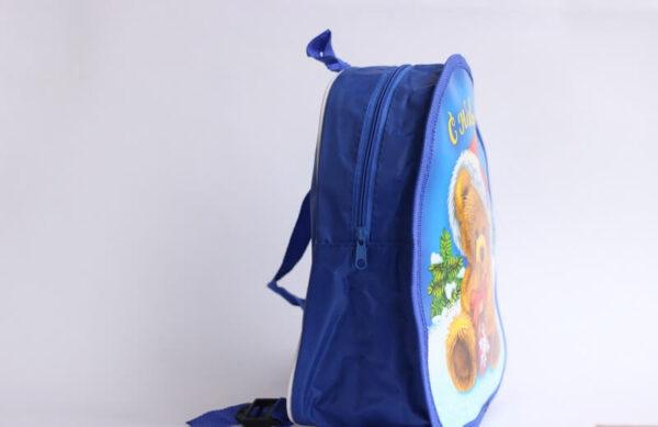 Рюкзак для новогоднего подарка Мишка с конфетами