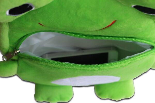 Рюкзак-мягкая игрушка Лягушонок