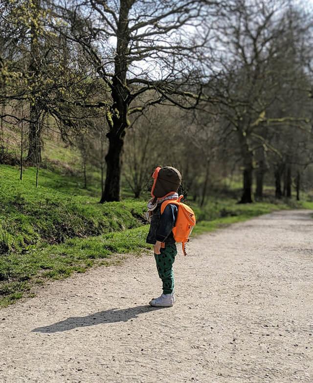 Детский рюкзак на 3 года и старше